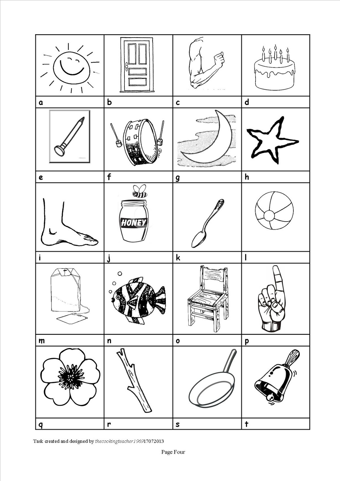 The Cooking Teacher Fun With Compound Nouns