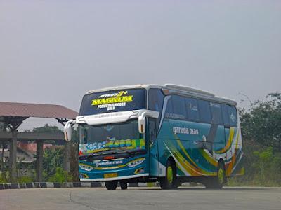 Foto Bus Garuda Mas Ponorogo Solo Bogor
