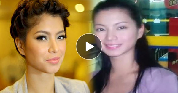 Angel Locsin's Bare-Faced Photos Proves That She Totally Is Beautiful Inside And Out