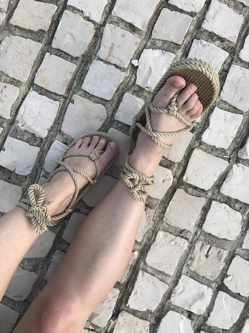 sandales corde Nomadic state of mind