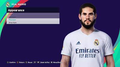 PES 2021 Faces Isco by SR