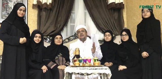 Najwa Shihab Binti Rizieq Shihab Menikah, Dr. Berlian Idris Ingatkan Protokol Kesehatan