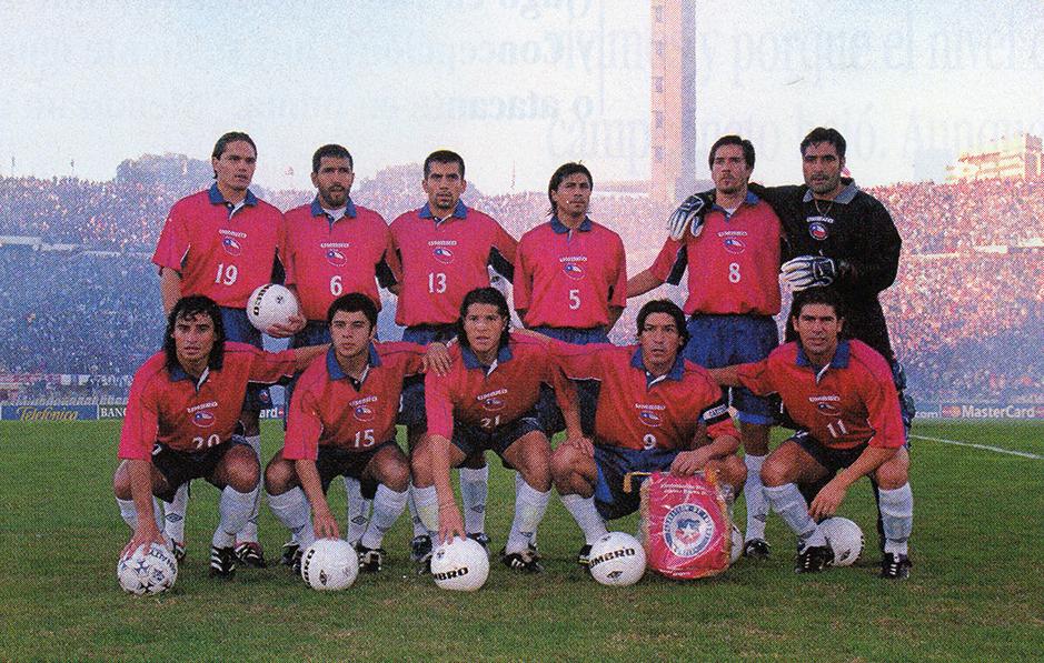 Formación de Chile ante Uruguay, Clasificatorias Corea/Japón 2002, 6 de junio de 2000