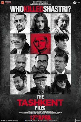 The Tashkent Files 2019 Hindi 480p WEB HDRip 400Mb x264