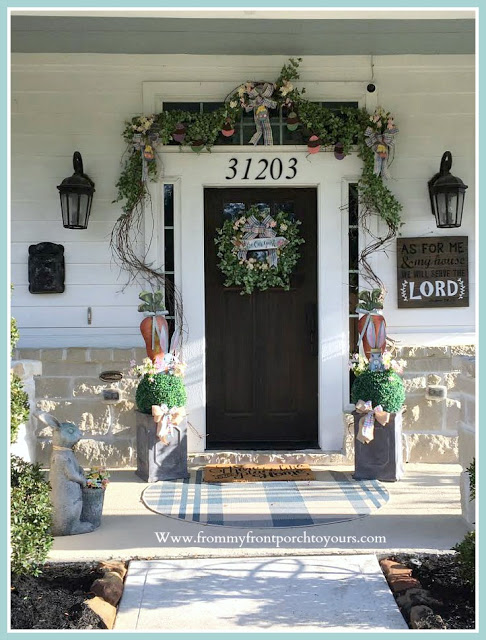 Front -Door- Update- Farmhouse-Cottage-Craftsman-From My Front Porch To Yours