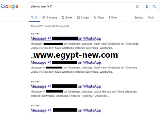 أصدر WhatsApp Bug أرقام هواتف فردية في قوائم Google المفهرسة