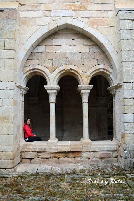 Claustro del Monasterio de Santa María la Real, Aguilar