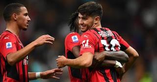 سجل ميلان انتصارا ثمينا وانتصر على فينيسيا وتعادل مع إنتر ميلان في صدارة الدوري الإيطالي