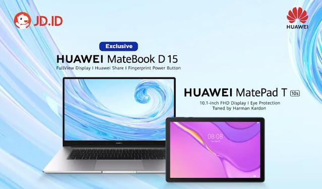 JD ID Huawei Matebook D15