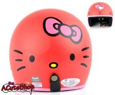 helm hello kitty