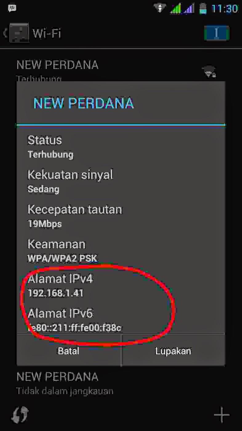 Cara Melihat Ip Address Wifi Lewat Cmd : melihat, address, lewat, Mengetahui, Server