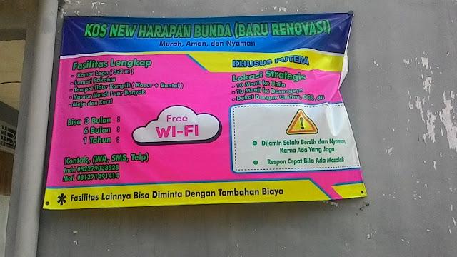 Kosan Bulanan di Bandar Lampung