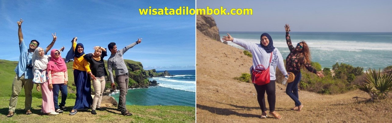 Mengunjungi Bukit Merese Area Kuta Mandalika Lombok