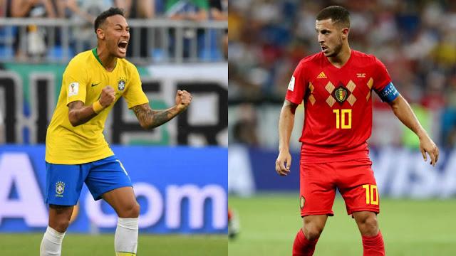 أقوى هجوم يتحدى أصلب دفاع في موقعة بلجيكا والبرازيل