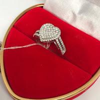 Jual Cincin Berlian Eropa Model Love