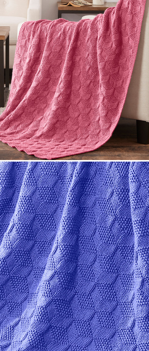 Stack Up Blocks Blanket - Free Pattern
