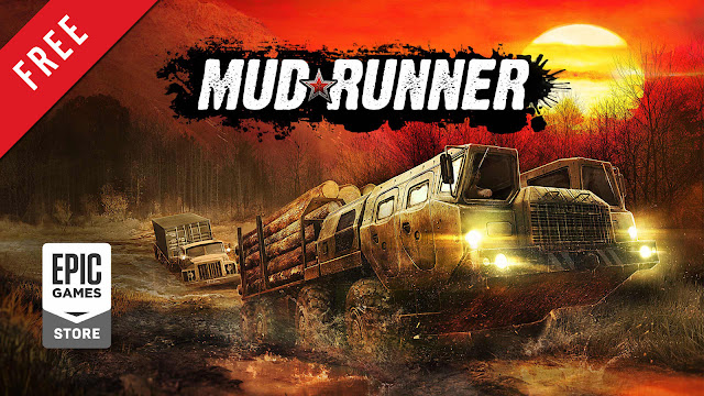 mudrunner free pc game epic games store off-roading ultimate truck simulator game saber interactive focus home