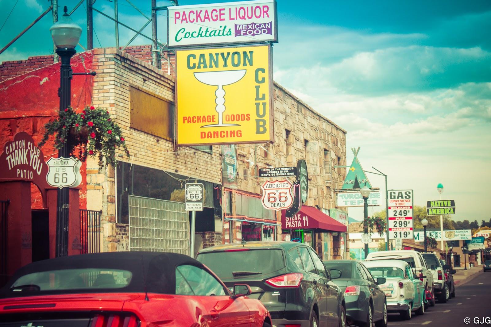 Historic US Route 66 Williams, Arizona