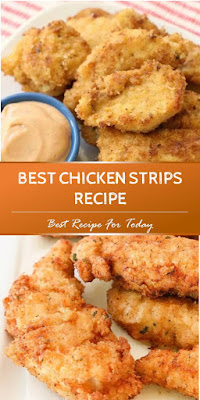BEST CHICKEN STRIPS RECIPE #chickenrecipe #friedchicken