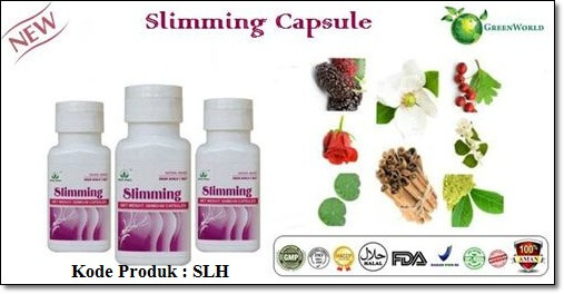 Slimming Capsule Green World Indonesia