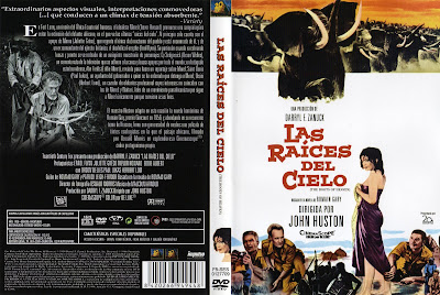 Carátula dvd: Las raíces del cielo (1958) The Roots of Heaven