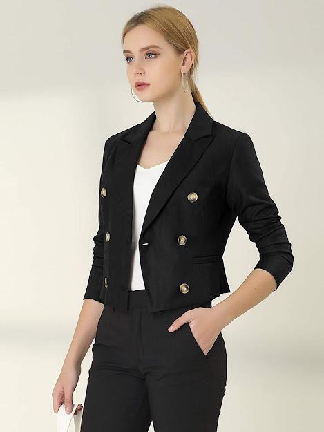 Best Cropped Blazers Jackets For Women