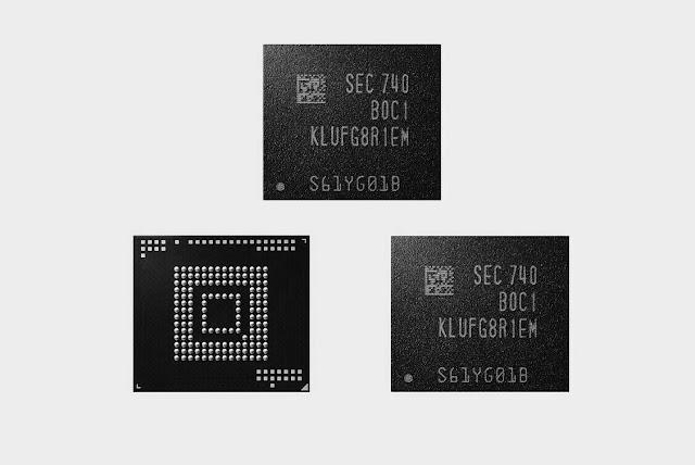 Samsung fifth gen V-NAND streak memory