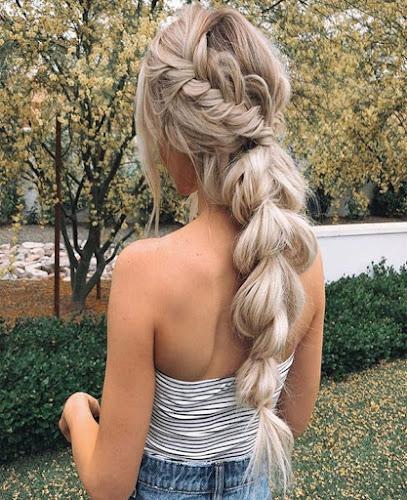 Peinados tumblr con trenzas