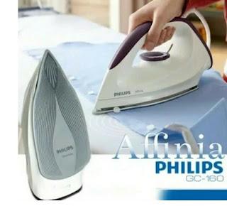 Setrika Philips Listrik GC160 Affinia Dry Iron