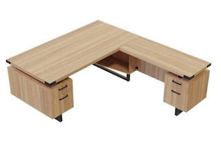 Mirella L Shaped Desk