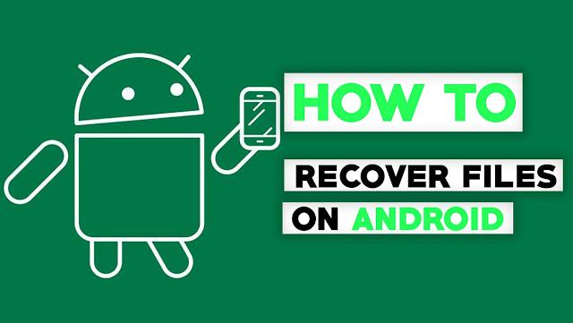 Cara Mengembalikan data atau File Foto yang terhapus atau hilang di Android