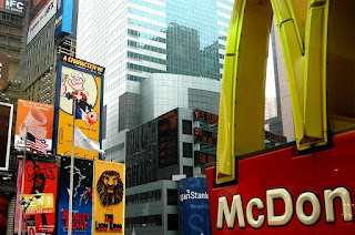 McDonald designed for bees