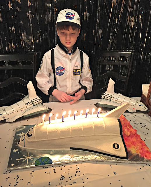 Nasa Themed Birthday Party