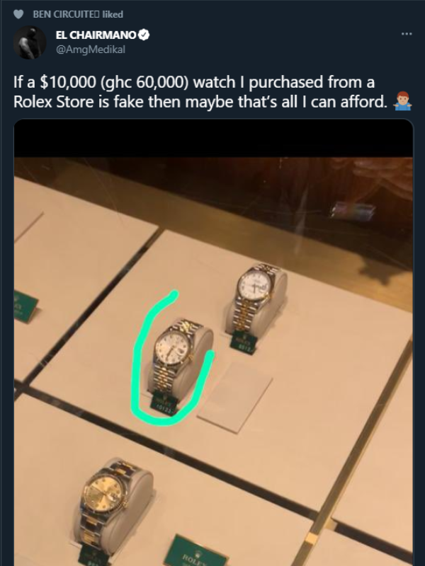 Medikal Fake Rolex Watch from Germany