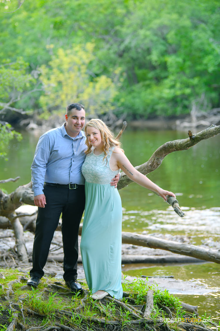 Toledo Wedding Engagement Pictures by River Nature - by SudeepStudio.com Ann Arbor Wedding Photographer