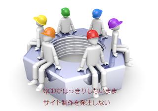 QCDがはっきりしないままサイト制作を発注しない