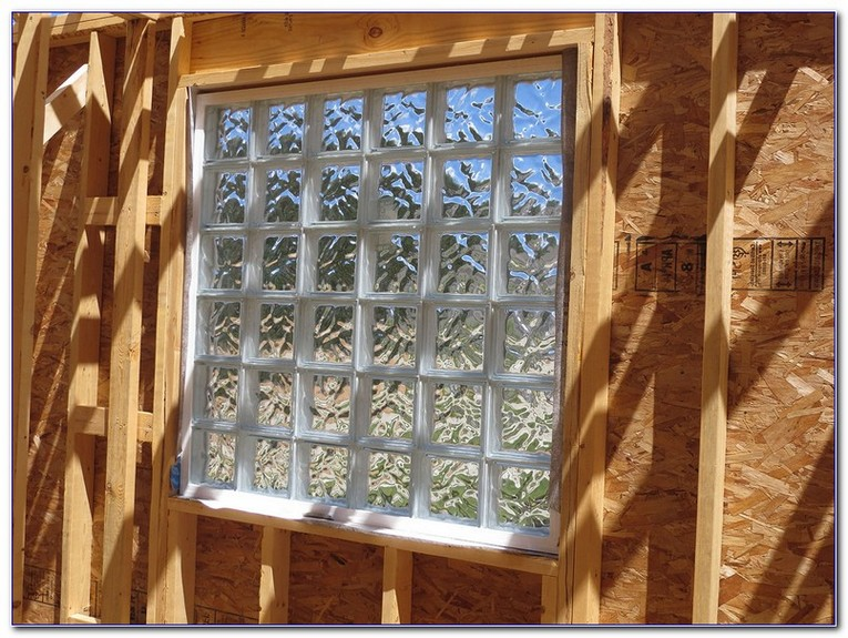 How To Install Gl Block Window In Wood Frame Home Car