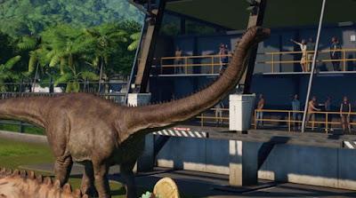 Manage Shops, Park, Restaurant, Make Profit, Jurassic World Evolution