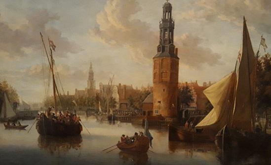 Confusión de confusiones, por José de la Vega Embarcando_hacia_el_este-pintura_holandesa