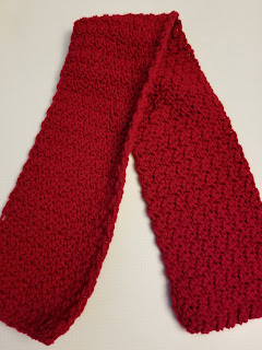 Free Crochet Easy Berry Stitch Scarf Pattern
