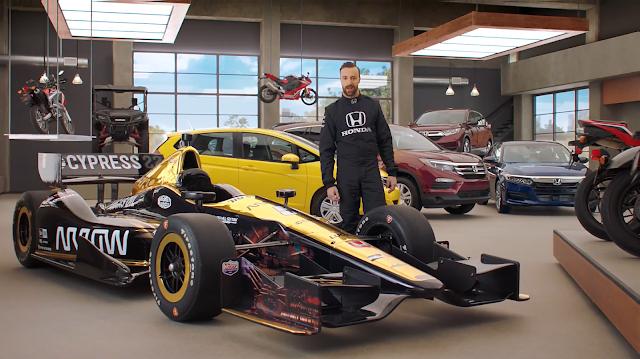 Honda Dream Garage Starring Indy Car Racer James HInchliffe