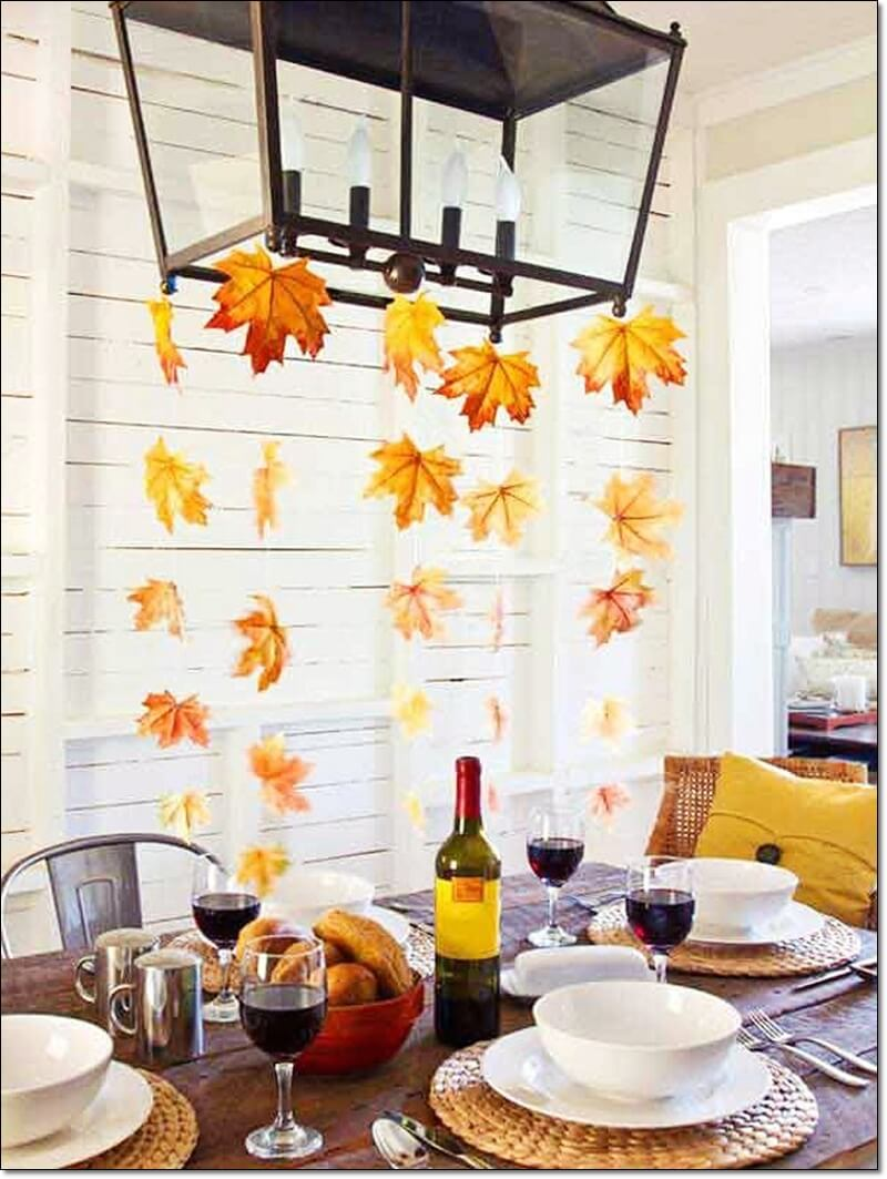 Thanksgiving Table, Centerpiece, Party, Decorations