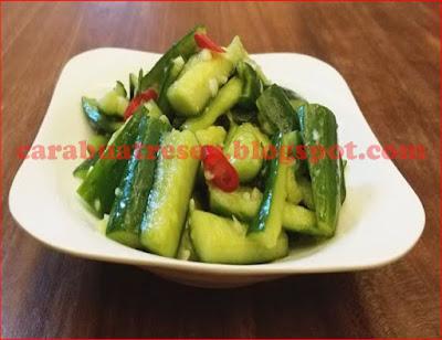 Foto Resep Acar Timun Ala Taiwan Chinese Food Sederhana Spesial Asli Enak