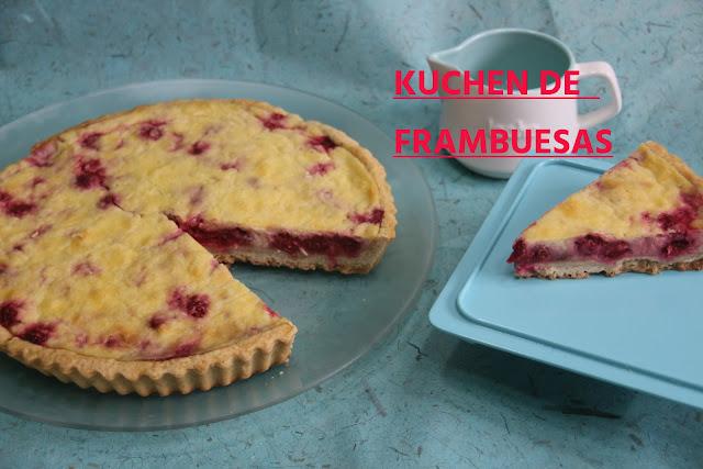 Kuchen O Tarta  De Frambuesa