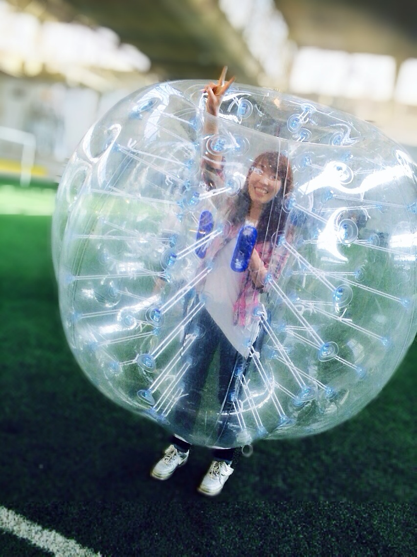 {Bubble Soccer} Because normal soccer is too boring