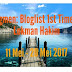 'Segmen: Bloglist 1st Time by Lokman Hakim'