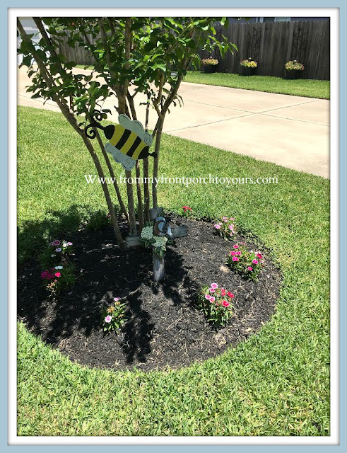 Front -Yard -Garden-DIY-Landscape-Perennials-Flower-Beds-From My Front Porch To Yours