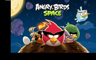 تحميل لعبة الطيور الغاضبة في الفضاء مجانا