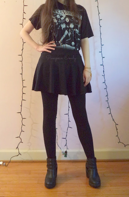 Ways to Wear Band T-Shirts | How to Style Band Tees Black Veil Brides T-shirt