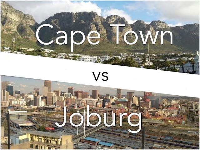 Cape Town or Johannesburg
